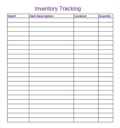 6 Inventory Tracking Sles Pdf Word Sle Templates Running Inventory Excel Template