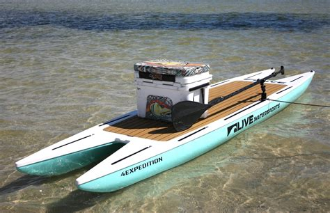 skiff paddle board live watersports l4expedition watersports west