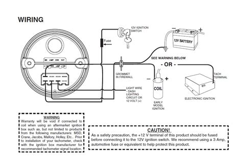 mopar electronic ignition wiring diagram tach connection