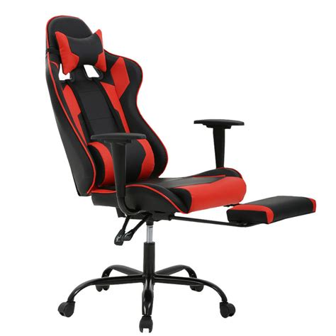 Massaging Computer Chair by Racing Gaming Chair High Back Computer Recliner Office