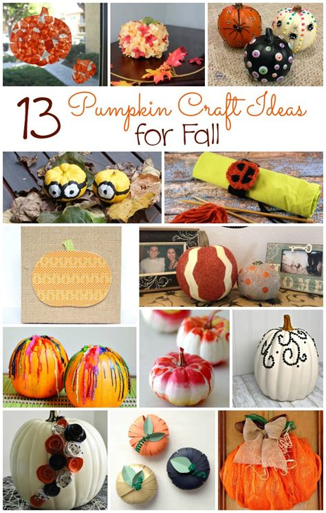 pumpkin craft ideas for 13 pumpkin craft ideas for fall outnumbered 3 to 1