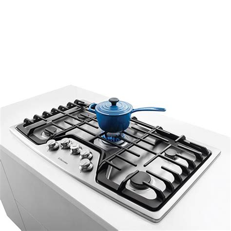 Best Buy Cooktops electrolux 36 quot built in gas cooktop ew36gc55ps