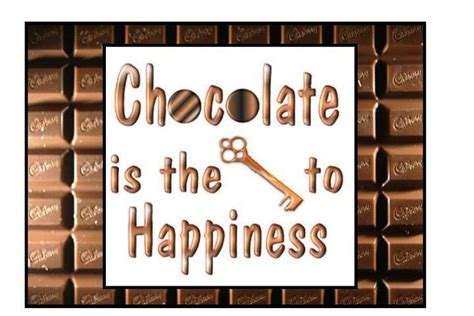 chocolate quotes chocolate is the key to my happiness chocolate quotes