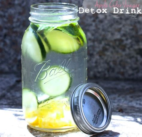 Water And Apple Cider Vinegar Detox by Detox Water Top 25 Infused Water Recipes For Weight Loss