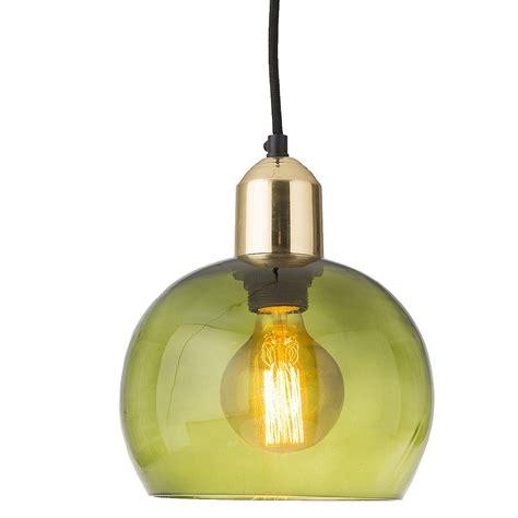Green Glass Pendant Light Lush Green Glass Pendant Light Audenza