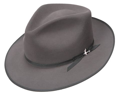 Fedorafashion Hem No 95 1 stetson fashion collection 1940s stratoliner fur felt fedora hat