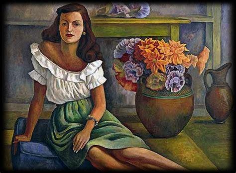 imagenes no realistas de diego rivera tallando l 225 piz retrato de mujer