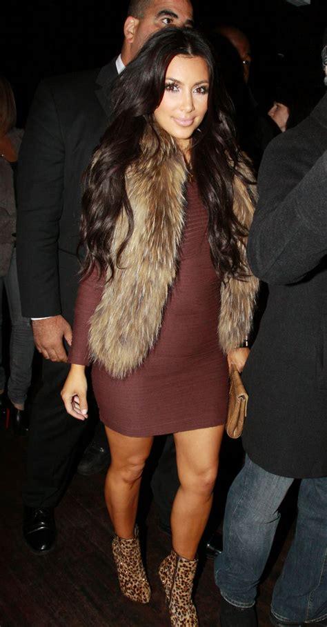 Boot Maroon Leopard style fur vest sleeved bodycon dress leopard print boot heels