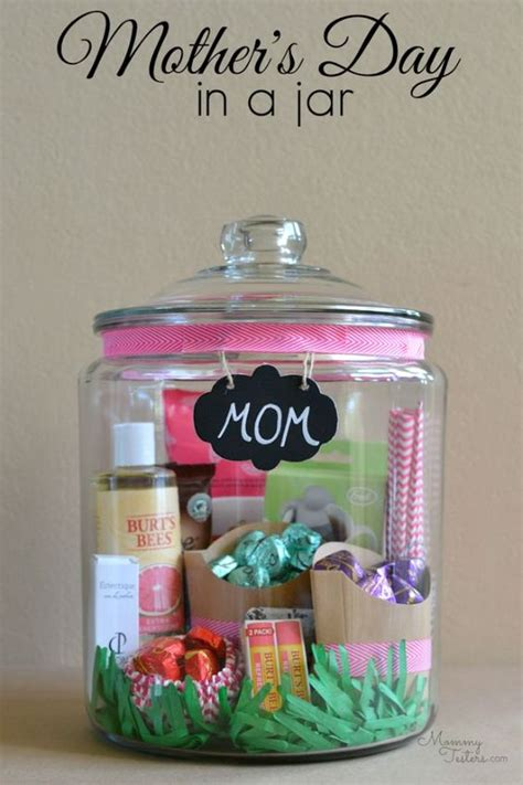 christmas gifts for mom from daughter 35 creatively thoughtful diy mother s day gifts jar
