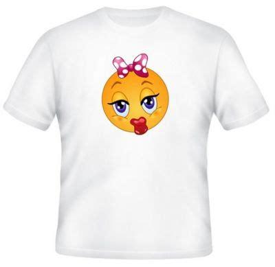 Kaos America Lengan Panjang kaos emoticon cium kaos premium