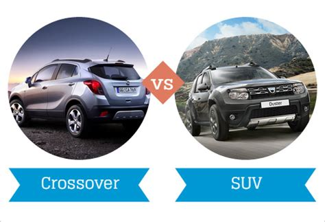 Difference Between Suv And Crossover by Suvs Vs Crossovers The Key Differences