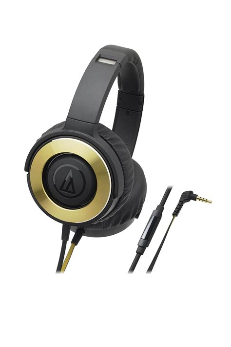 Audio Technica Ws550is Solid Bass Profesional Headphone Hitam Gold ath ws550is audio technica s e a