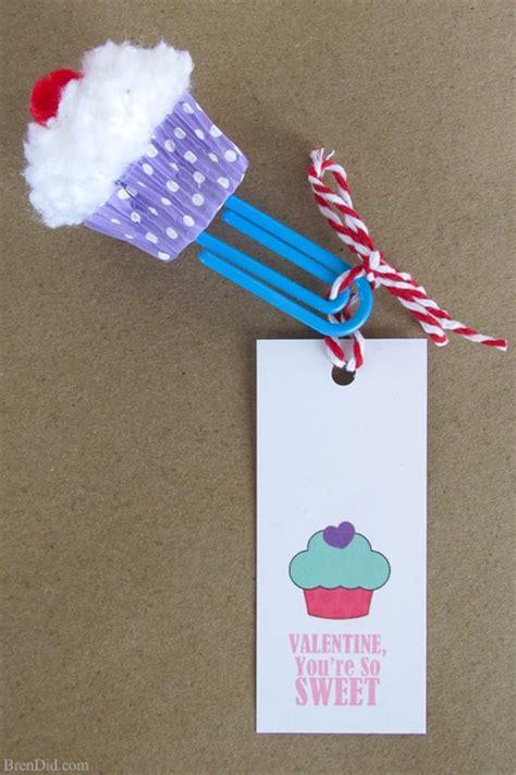 printable homemade bookmarks cupcake bookmark craft free printable valentine cards