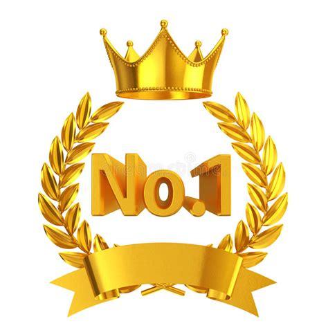 Clip Trigonal No1 gouden nr 1 embleem stock illustratie illustratie bestaande uit embleem 62489943