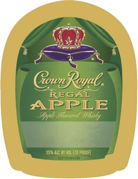 750 Ml Crown Royal Regal Apple Label Crown Royal Labels Crown Royal Label Template