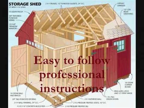 build  storage shed wooden shed blueprints