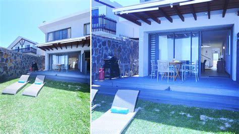 blue beach houses blue beach house villa rental in mauritius south east