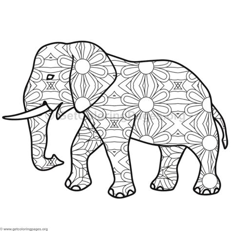 zen coloring pages elephant adult elephant coloring pages coloring pages for adults