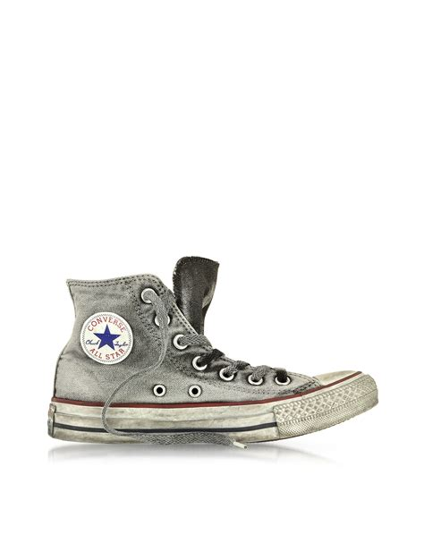 Jual Converse Special Edition converse all high top smoke canvas ltd sneaker in gray for lyst