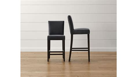Lowes Bar Stools On Sale by Lowe Onyx Leather Bar Stool