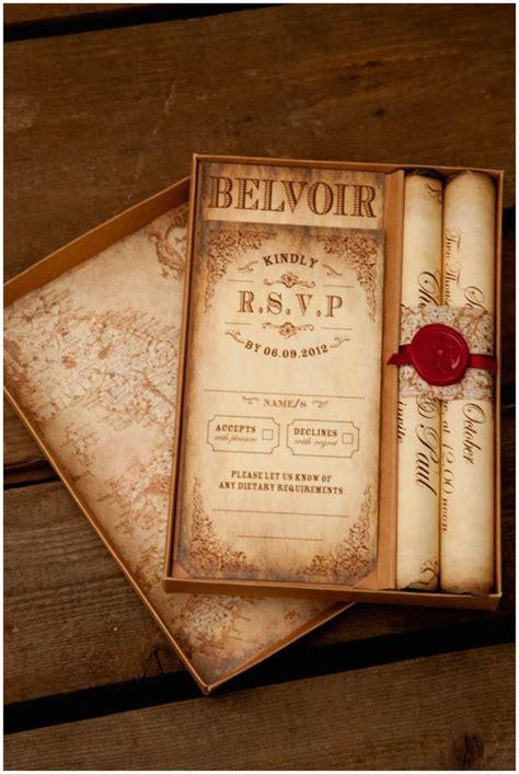 Scroll Wedding Invitations by Montecristo Scroll Wedding Invitation 187 Truly Madly Dottie