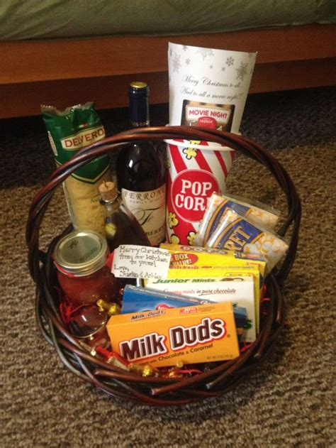 dinner gifts dinner and a quot themed gift basket images frompo