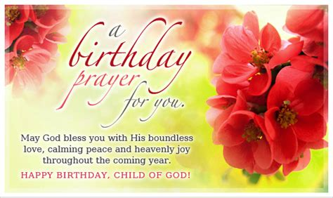 Birthday Prayer For by Birthday Blessings Page 54