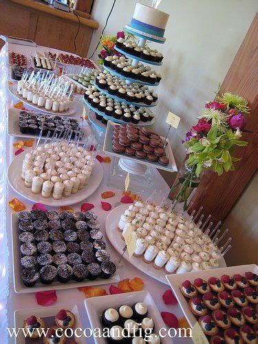 mini dessert buffet mini dessert pinterest