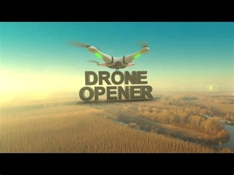 Drone Opener After Effects Template Youtube After Effects Drone Template