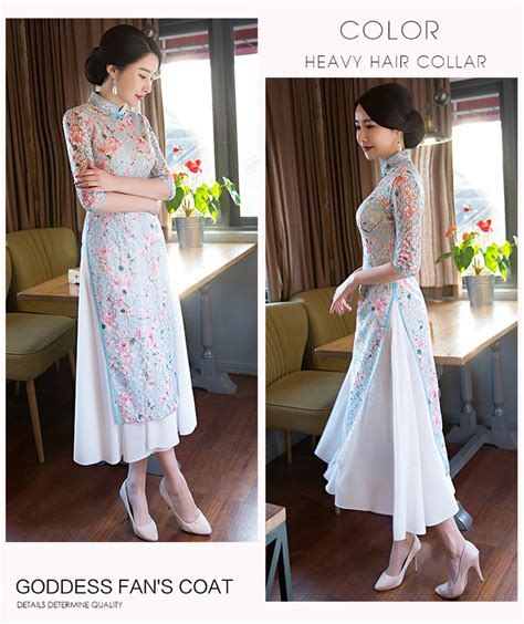 Dress Import Dress Butik Ls53 butik baju import dress cheongsam ready stock baju