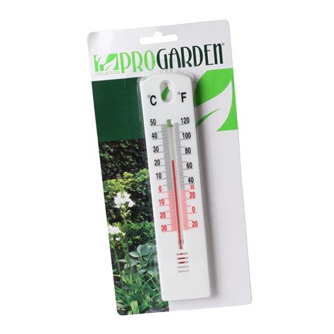 Garden Thermometer Large Wall Outdoor Indoor Greenhouse Garden Wall Thermometer