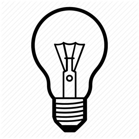 Light Bulb Outline Png by Electric Idea L Light Light Bulb Lightbulb Lightning Icon Icon Search Engine