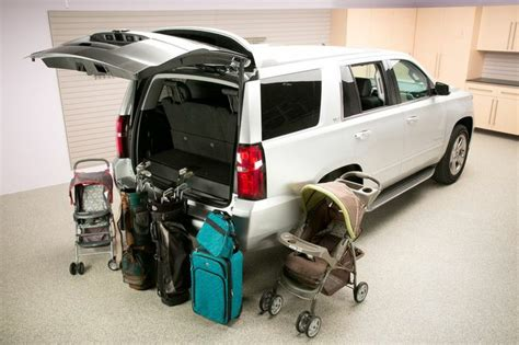 Chevrolet Tahoe Seating Configuration 2015 Chevrolet Tahoe Real World Cargo Space 2015