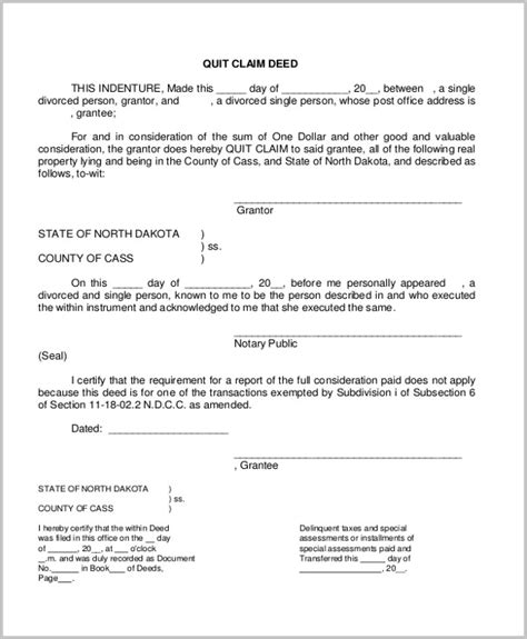 letter template quit claim divorce quitclaim exle gallery download cv letter and