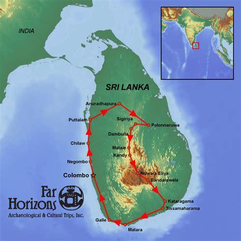 earth map sri lanka sri lanka tour resplendent land far horizons