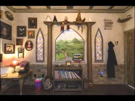 harry potter house decor harry potter bedroom design decorating ideas youtube