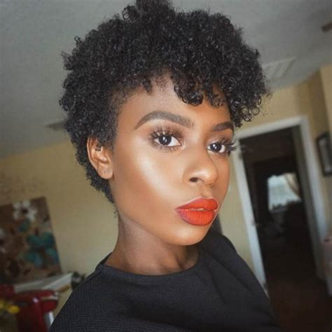 natural hairstyles cut 12 best short natural hairstyles for black women new