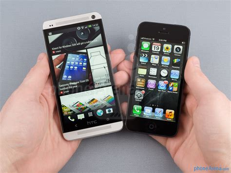 iphone one htc one vs apple iphone 5 phonearena