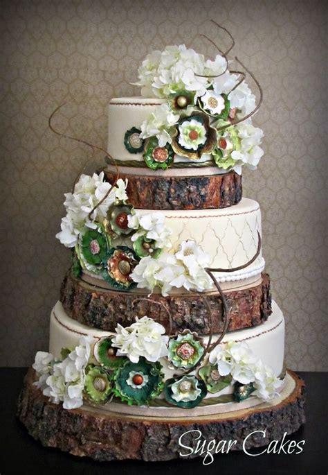 Wedding Log by Rustic Log Wedding Cake Wedding Cake