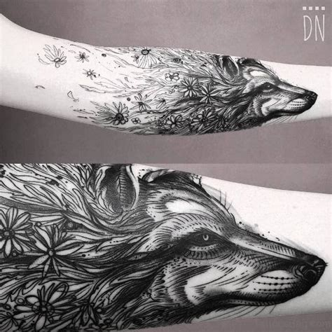 alpha wolf tattoo 66 alpha wolf tattoos for