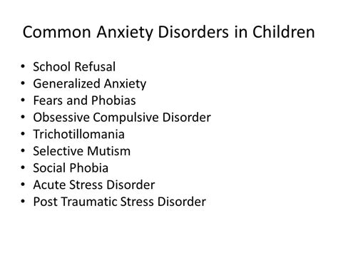 7 With Anxiety Disorders by Anxiety When Is It More Than Just A Phase Ppt