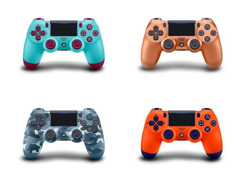 dualshock 4 colors sony announces new playstation 4 dualshock controller