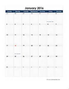 calendar template 2016 2016 excel monthly calendar 06 free printable templates