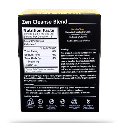 Zen Detox Ltd buddha tea trendmonitor