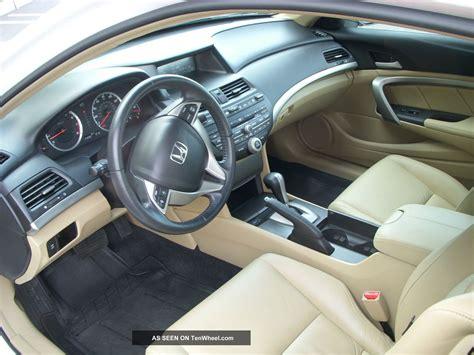 online auto repair manual 2009 honda accord interior lighting 2009 honda accord coupe 6 cyl ex l white with tan interior