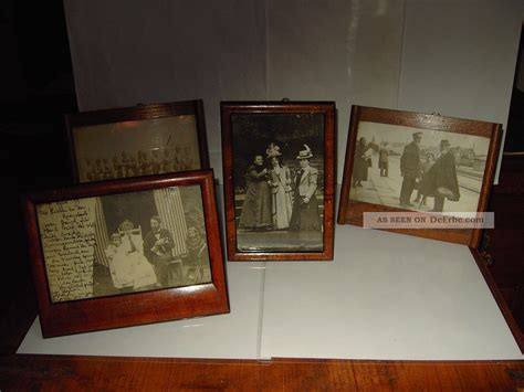 Alte Fotorahmen by Alte Fotorahmen Holz Mit Glas Um 1910 20