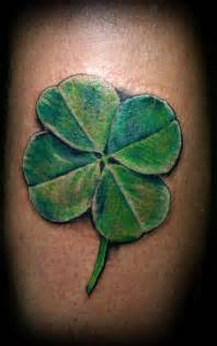 Pics photos four leaf clover tattoos
