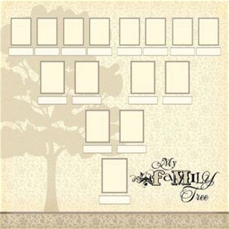 1000 Images About Family Tree Layouts On Pinterest Genealogy Shutterfly And 52 Weeks Shutterfly Family Tree Template
