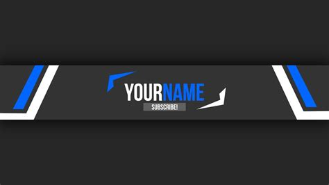 Free Youtube Banner Template 10 Photoshop Tutorial Youtube Banner Template Photoshop