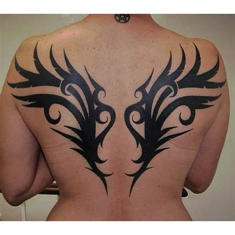tribal wing tattoos on back 115 inventive wings tattoos and designs for